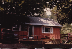 The cabin I lived in when I first moved to Vermont.